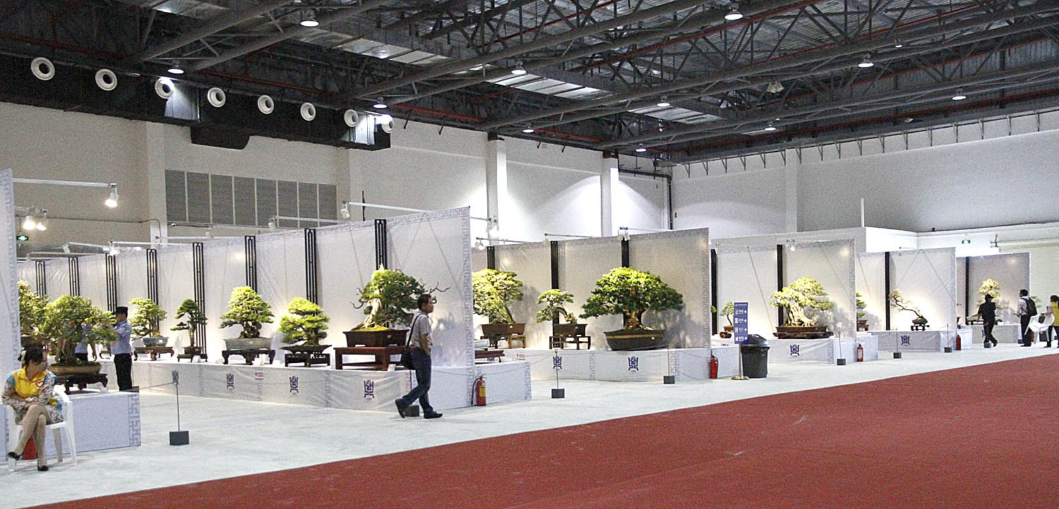 Exhibition Stand Large : China guzhen national penjing exhibition