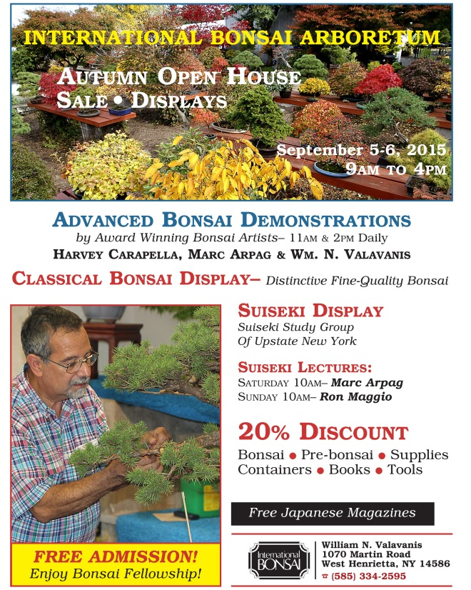 2015 AUTUMN OPEN HOUSE